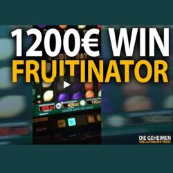 1200€ Gewinn bei Fruitinator