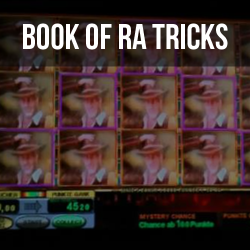 tricks book of ra spielothek